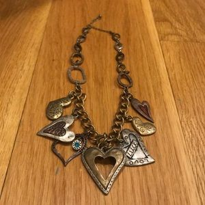 Charm Necklace (Lucky Brand look alike!)